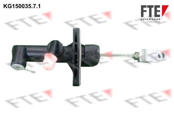 Emetteur d'embrayage FTE KG150035.7.1 (X1)