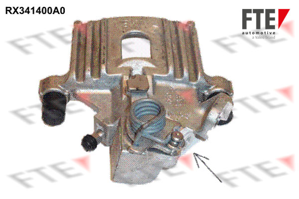 Etrier de frein FTE RX341400A0 (X1)