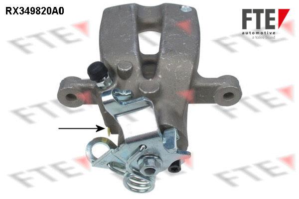 Etrier de frein FTE RX349820A0 (X1)