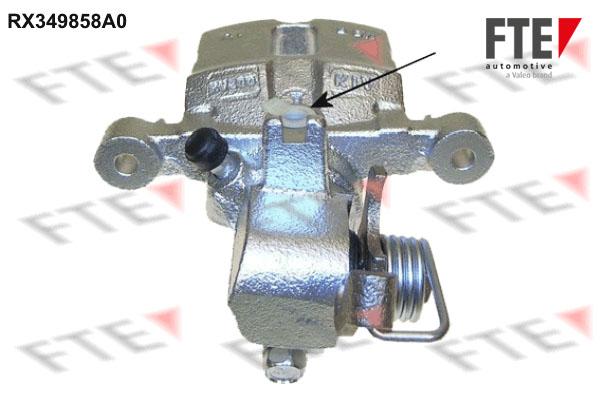 Etrier de frein FTE RX349858A0 (X1)