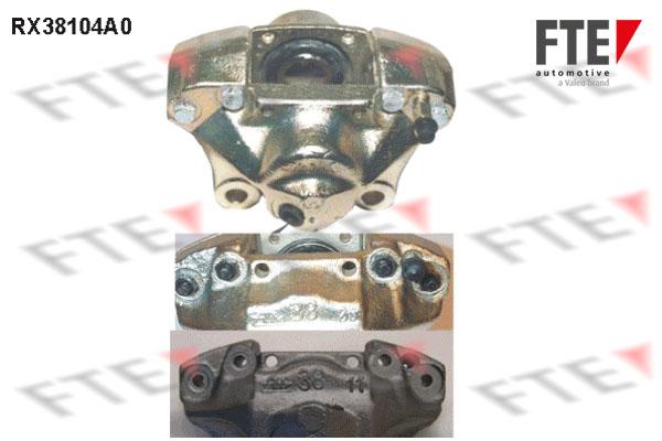 Etrier de frein FTE RX38104A0 (X1)