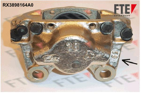Etrier de frein FTE RX3898164A0 (X1)