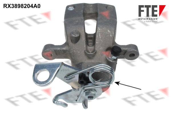 Etrier de frein FTE RX3898204A0 (X1)
