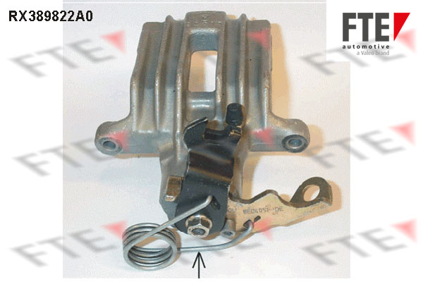 Étrier de frein FTE RX389822A0 (X1)