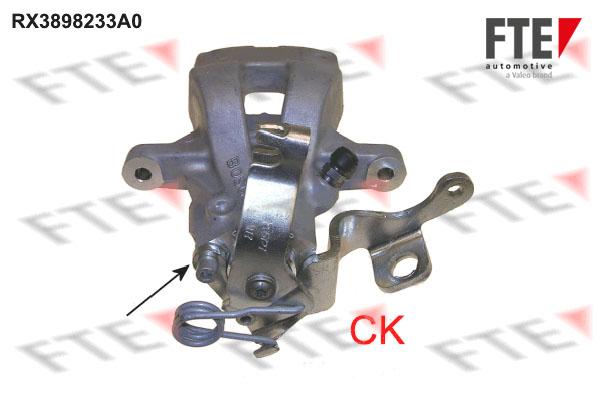 Etrier de frein FTE RX3898233A0 (X1)