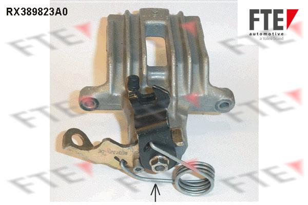 Étrier de frein FTE RX389823A0 (X1)