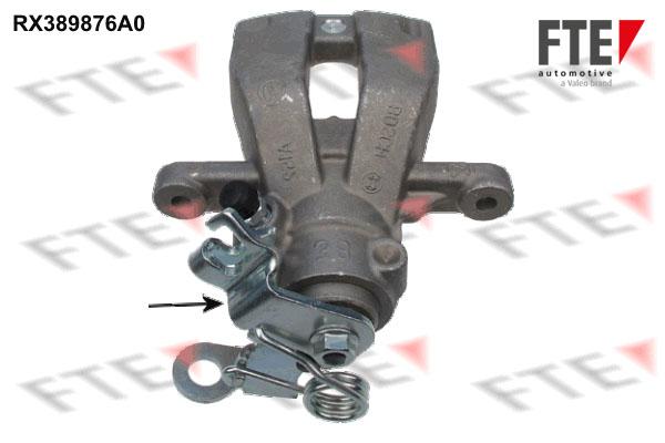 Etrier de frein FTE RX389876A0 (X1)