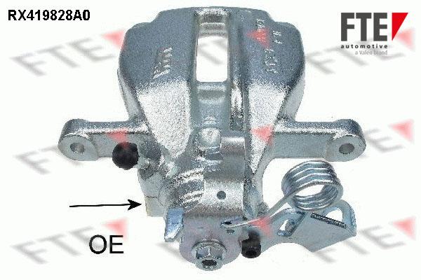 Etrier de frein FTE RX419828A0 (X1)