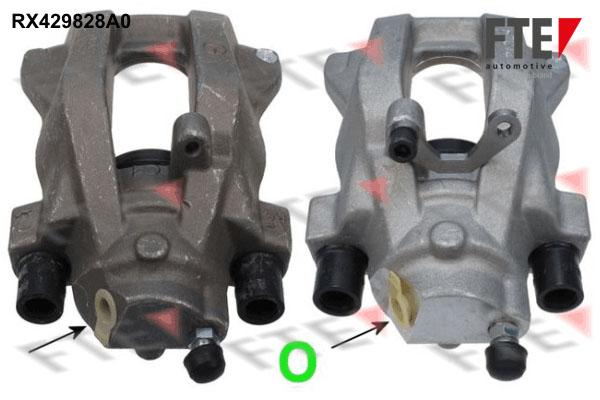 Etrier de frein FTE RX429828A0 (X1)
