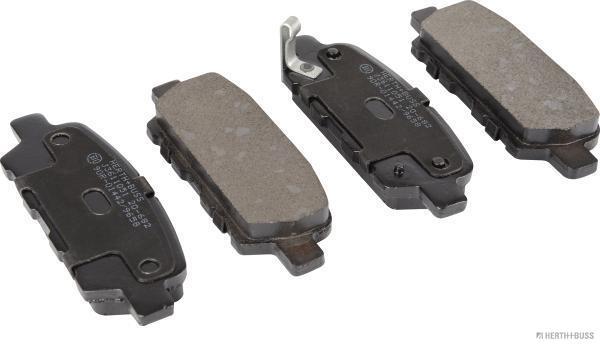 Kit de plaquettes de frein, frein à disque HERTH+BUSS JAKOPARTS J3611051 (X1)