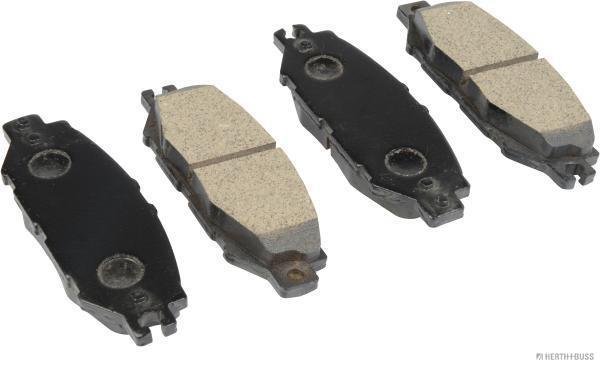 Kit de plaquettes de frein, frein à disque HERTH+BUSS JAKOPARTS J3612014 (X1)