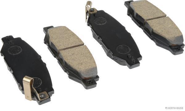 Kit de plaquettes de frein, frein à disque HERTH+BUSS JAKOPARTS J3612016 (X1)
