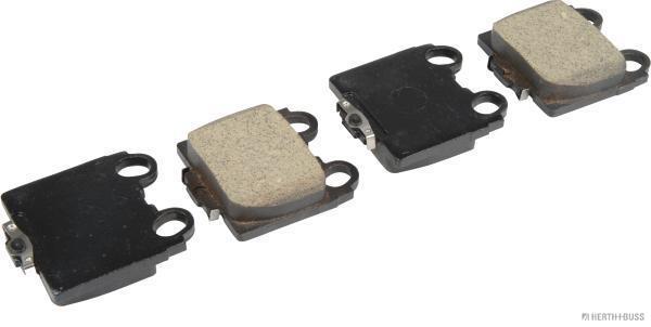 Kit de plaquettes de frein, frein à disque HERTH+BUSS JAKOPARTS J3612017 (X1)