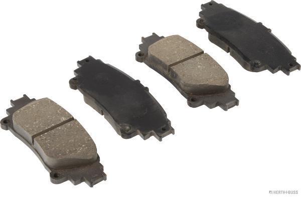Kit de plaquettes de frein, frein à disque HERTH+BUSS JAKOPARTS J3612023 (X1)