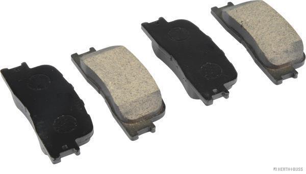 Kit de plaquettes de frein, frein à disque HERTH+BUSS JAKOPARTS J3612024 (X1)