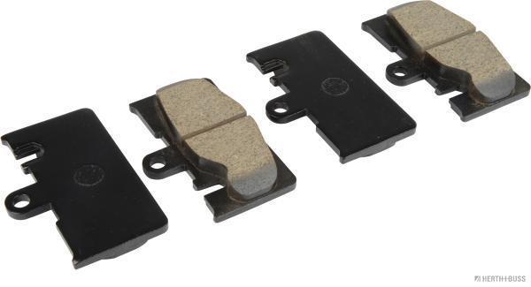 Kit de plaquettes de frein, frein à disque HERTH+BUSS JAKOPARTS J3612029 (X1)