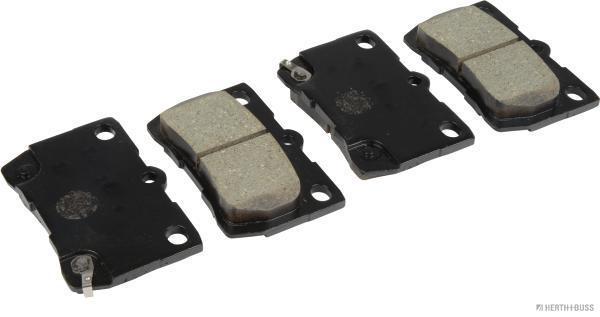 Kit de plaquettes de frein, frein à disque HERTH+BUSS JAKOPARTS J3612032 (X1)