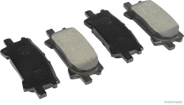 Kit de plaquettes de frein, frein à disque HERTH+BUSS JAKOPARTS J3612037 (X1)