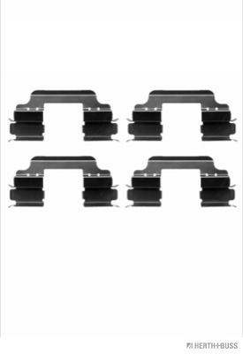 Kit de montage plaquettes de frein HERTH+BUSS JAKOPARTS J3661025 (X1)