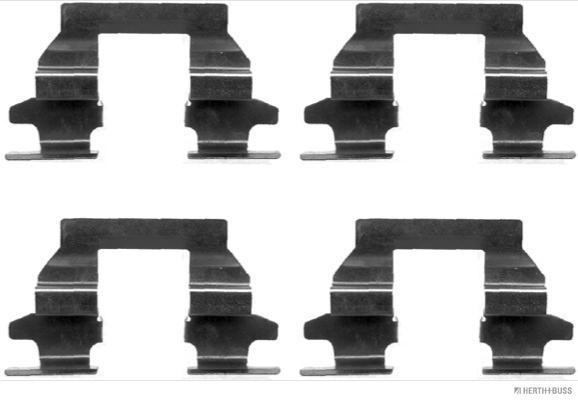 Kit de montage plaquettes de frein HERTH+BUSS JAKOPARTS J3661033 (X1)