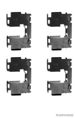 Kit de montage plaquettes de frein HERTH+BUSS JAKOPARTS J3662038 (X1)