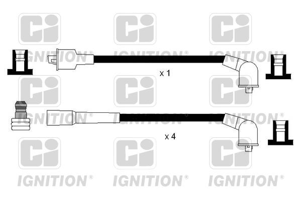 Cable d'allumage QUINTON HAZELL XC1144 (X1)