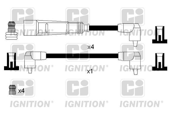 Cable d'allumage QUINTON HAZELL XC1206 (X1)