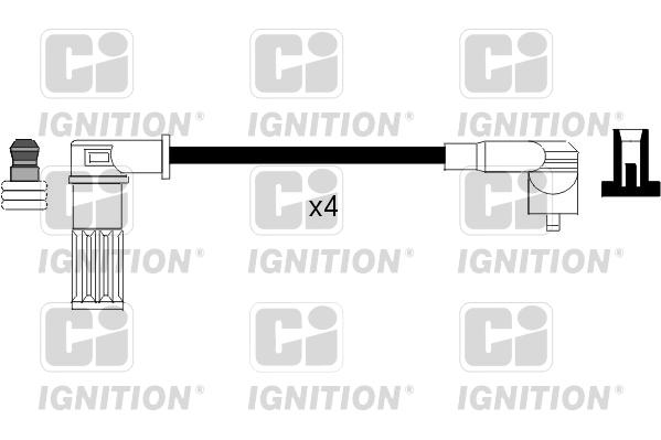 Cable d'allumage QUINTON HAZELL XC551 (X1)