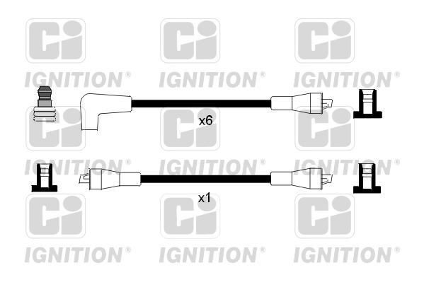 Cable d'allumage QUINTON HAZELL XC648 (X1)