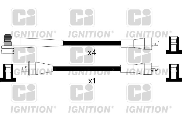 Cable d'allumage QUINTON HAZELL XC959 (X1)