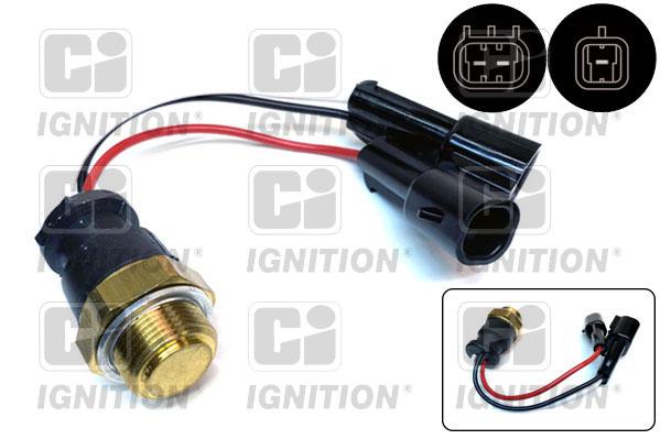 Interrupteur de temperature, ventilateur de radiateur QUINTON HAZELL XEFS120 (X1)