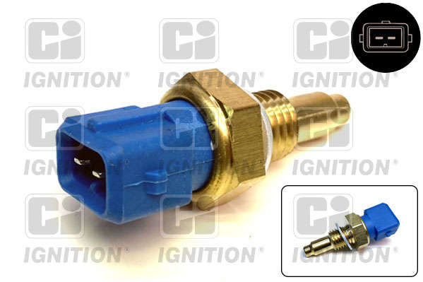 Capteur, temperature du liquide de refroidissement QUINTON HAZELL XEMS69 (X1)