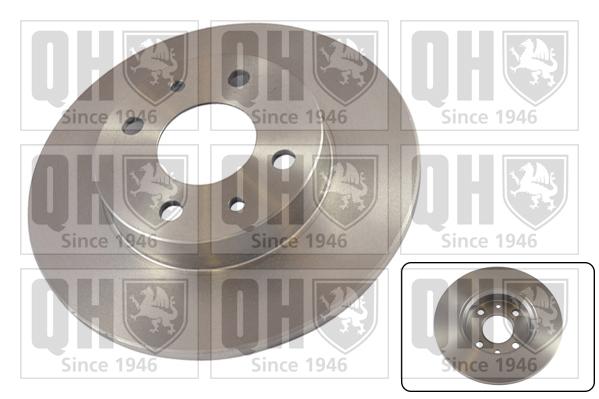 Disque de frein QUINTON HAZELL BDC3592 (X1)