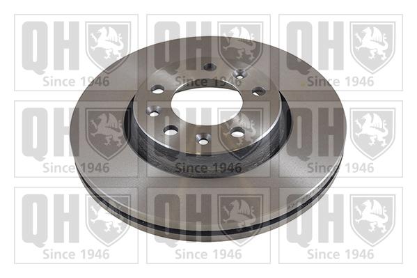 Disque de frein arriere QUINTON HAZELL BDC5453 (X1)