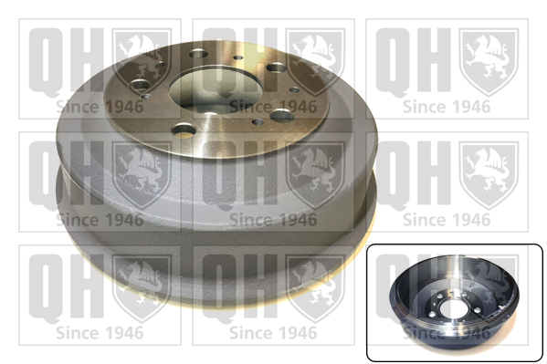 Tambour de frein arriere QUINTON HAZELL BDR280 (X1)