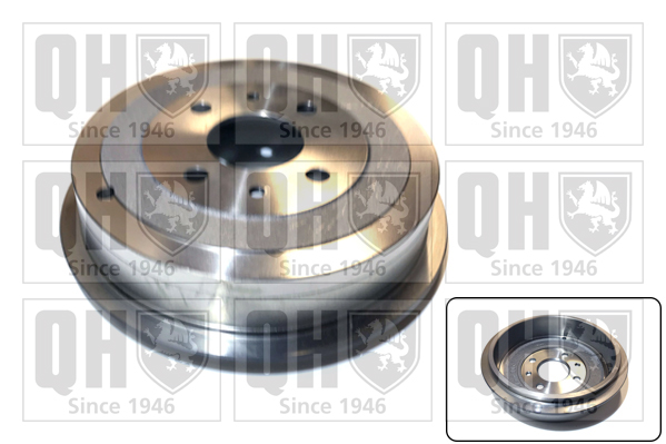 Tambour de frein arriere QUINTON HAZELL BDR322 (X1)