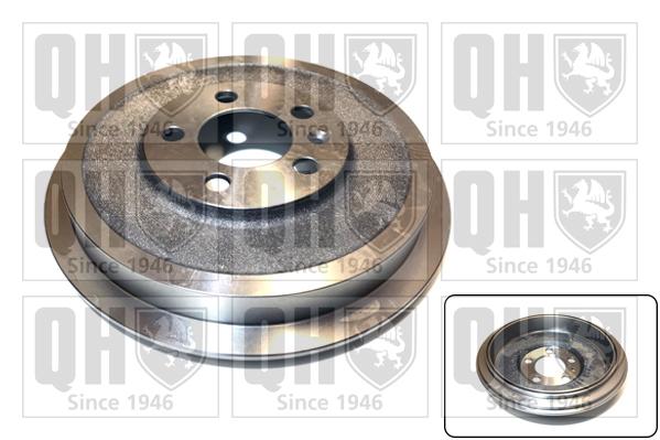 Tambour de frein arriere QUINTON HAZELL BDR545 (X1)
