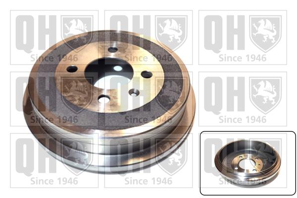 Tambour de frein arriere QUINTON HAZELL BDR549 (X1)