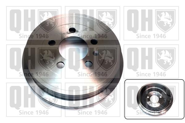 Tambour de frein arriere QUINTON HAZELL BDR632 (X1)