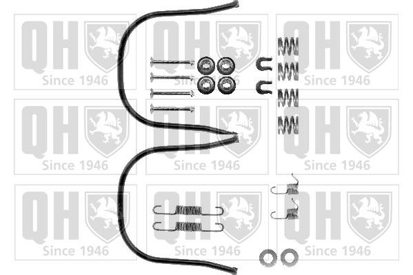 Kit de montage machoires de frein QUINTON HAZELL BFK252 (X1)
