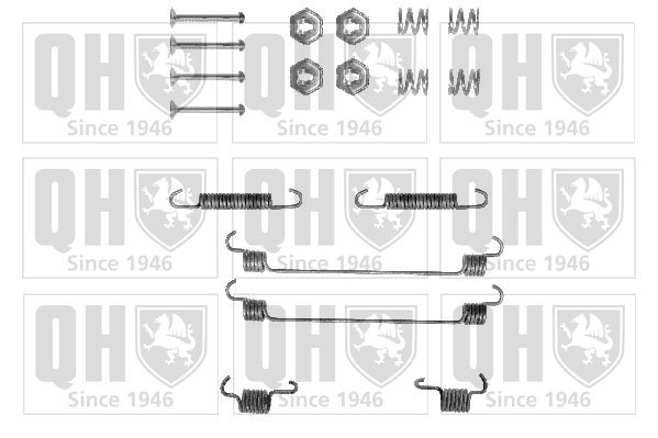 Kit de montage machoires de frein QUINTON HAZELL BFK266 (X1)