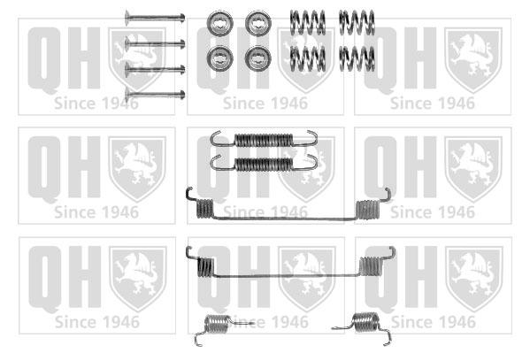 Kit de montage machoires de frein QUINTON HAZELL BFK271 (X1)