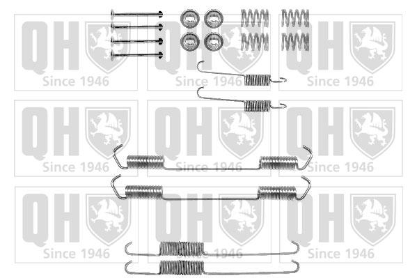 Kit de montage machoires de frein QUINTON HAZELL BFK283 (X1)