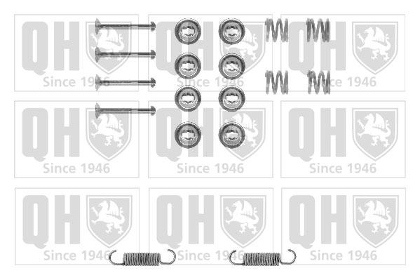 Kit de montage machoires de frein QUINTON HAZELL BFK329 (X1)