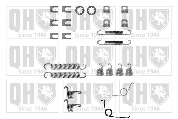 Kit de montage machoires de frein QUINTON HAZELL BFK366 (X1)