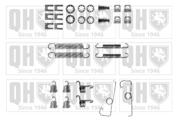 Kit de montage machoires de frein QUINTON HAZELL BFK370 (X1)