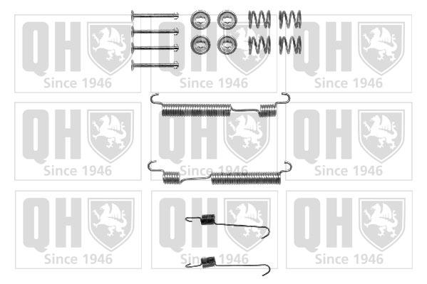 Kit de montage machoires de frein QUINTON HAZELL BFK457 (X1)