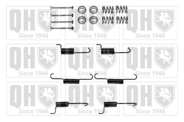 Kit de montage machoires de frein QUINTON HAZELL BFK458 (X1)