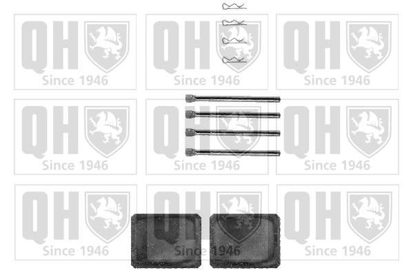 Kit de montage plaquettes de frein QUINTON HAZELL BFK776 (X1)