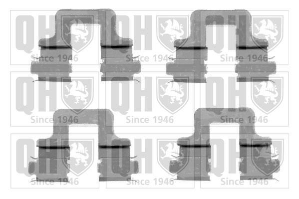 Kit de montage plaquettes de frein QUINTON HAZELL BFK929 (X1)